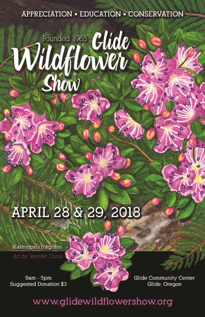 GLIDE WILDFLOWER SHOW POSTER 2018 final